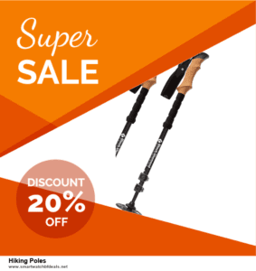 7 Best Hiking Poles Black Friday 2020 and Cyber Monday Deals [Up to 30% Discount]