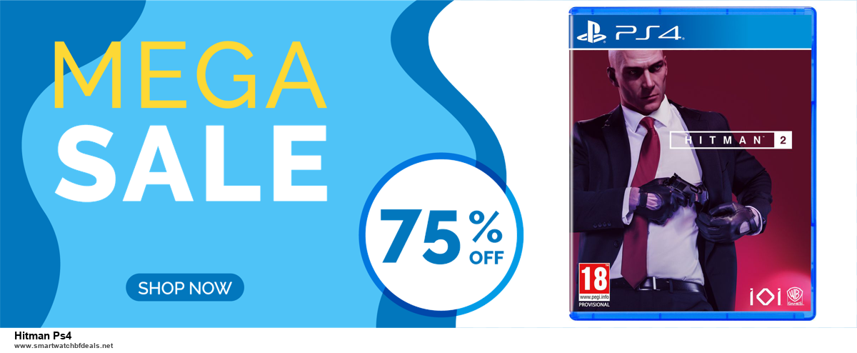 List of 6 Hitman Ps4 Black Friday 2020 and Cyber MondayDeals [Extra 50% Discount]