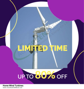 10 Best Home Wind Turbines Black Friday 2020 and Cyber Monday Deals Discount Coupons