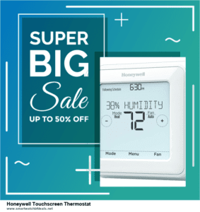 Grab 10 Best Black Friday and Cyber Monday Honeywell Touchscreen Thermostat Deals & Sales