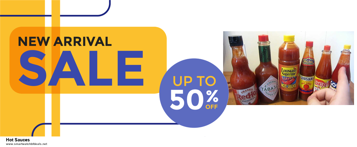 List of 6 Hot Sauces Black Friday 2020 and Cyber MondayDeals [Extra 50% Discount]