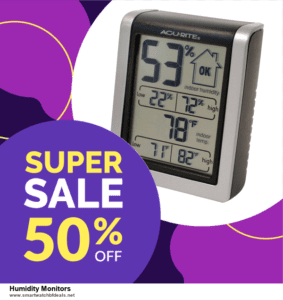 6 Best Humidity Monitors Black Friday 2020 and Cyber Monday Deals | Huge Discount