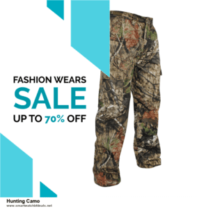 List of 6 Hunting Camo Black Friday 2021 and Cyber MondayDeals [Extra 50% Discount]