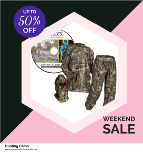 List of 6 Hunting Camo Black Friday 2020 and Cyber MondayDeals [Extra 50% Discount]