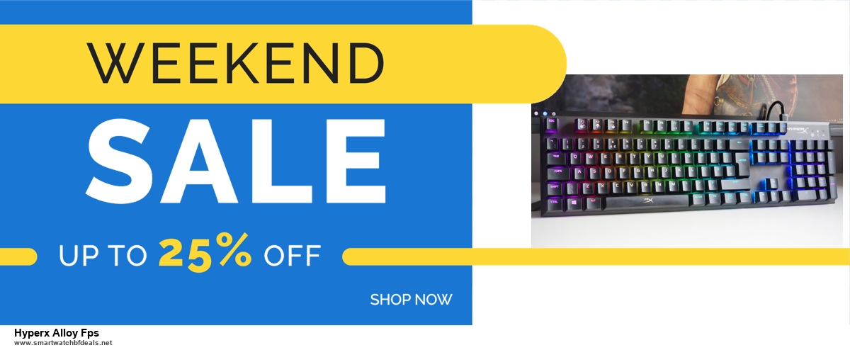 13 Exclusive Black Friday and Cyber Monday Hyperx Alloy Fps Deals 2020