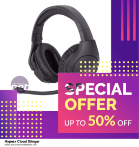 List of 6 Hyperx Cloud Stinger Black Friday 2020 and Cyber MondayDeals [Extra 50% Discount]