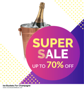9 Best Ice Buckets For Champagne Black Friday 2020 and Cyber Monday Deals Sales