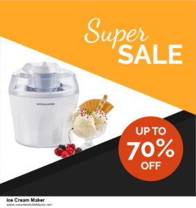 10 Best Black Friday 2020 and Cyber Monday  Ice Cream Maker Deals | 40% OFF