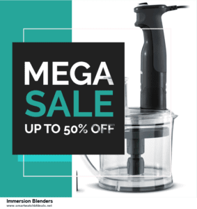 Grab 10 Best Black Friday and Cyber Monday Immersion Blenders Deals & Sales