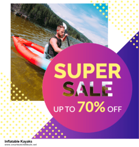 Top 10 Inflatable Kayaks Black Friday 2020 and Cyber Monday Deals