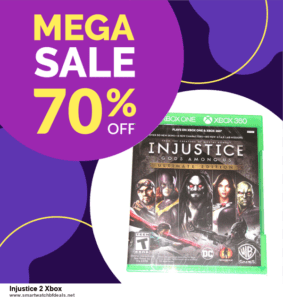 6 Best Injustice 2 Xbox Black Friday 2020 and Cyber Monday Deals | Huge Discount
