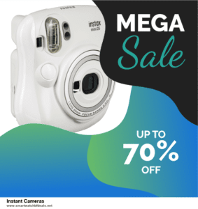 List of 6 Instant Cameras Black Friday 2020 and Cyber MondayDeals [Extra 50% Discount]