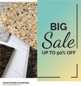 13 Best Black Friday and Cyber Monday 2020 Instant Granite Countertops Deals [Up to 50% OFF]