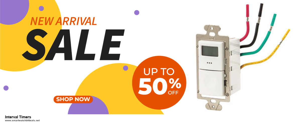 Top 5 Black Friday and Cyber Monday Interval Timers Deals 2020 Buy Now