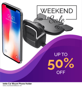 13 Best Black Friday and Cyber Monday 2020 Iottie Car Mount Phone Holder Deals [Up to 50% OFF]