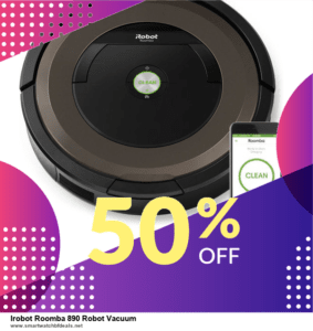 9 Best Black Friday and Cyber Monday Irobot Roomba 890 Robot Vacuum Deals 2020 [Up to 40% OFF]