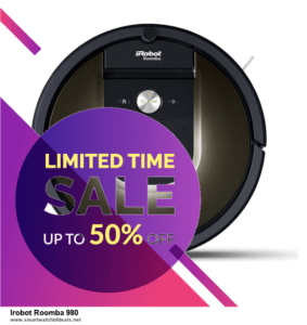 5 Best Irobot Roomba 980 Black Friday 2021 and Cyber Monday Deals & Sales
