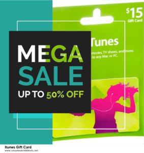 Top 11 Black Friday and Cyber Monday Itunes Gift Card 2020 Deals Massive Discount