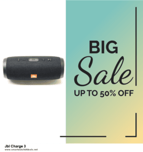 9 Best Black Friday and Cyber Monday Jbl Charge 3 Deals 2020 [Up to 40% OFF]