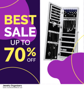 5 Best Jewelry Organizers Black Friday 2020 and Cyber Monday Deals & Sales