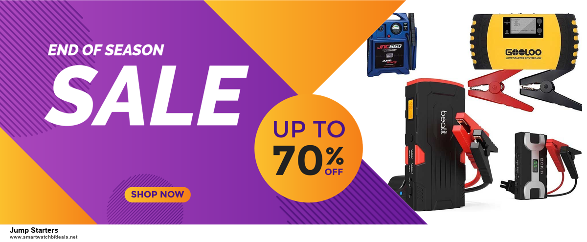 13 Exclusive Black Friday and Cyber Monday Jump Starters Deals 2020