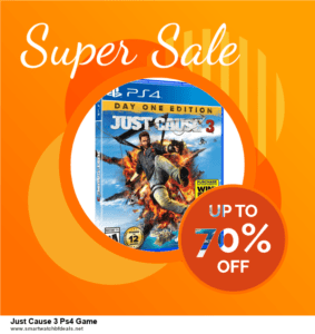 9 Best Just Cause 3 Ps4 Game Black Friday 2020 and Cyber Monday Deals Sales