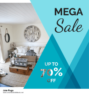 6 Best Jute Rugs Black Friday 2020 and Cyber Monday Deals | Huge Discount