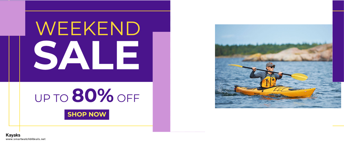 5 Best Kayaks Black Friday 2020 and Cyber Monday Deals & Sales