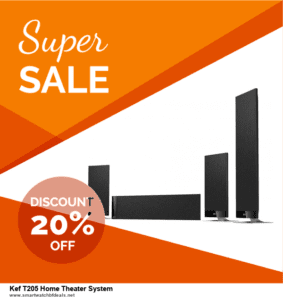 6 Best Kef T205 Home Theater System Black Friday 2020 and Cyber Monday Deals | Huge Discount