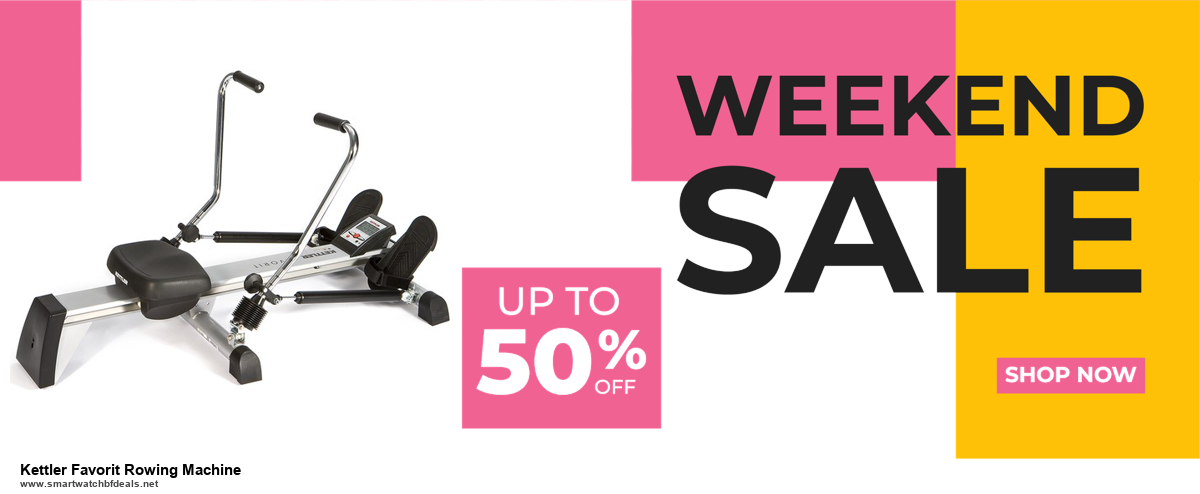 5 Best Kettler Favorit Rowing Machine Black Friday 2020 and Cyber Monday Deals & Sales