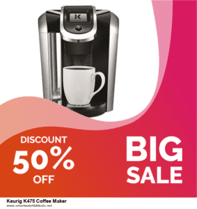 Top 5 Black Friday and Cyber Monday Keurig K475 Coffee Maker Deals 2021 Buy Now