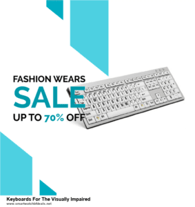 Top 5 Black Friday and Cyber Monday Keyboards For The Visually Impaired Deals 2020 Buy Now