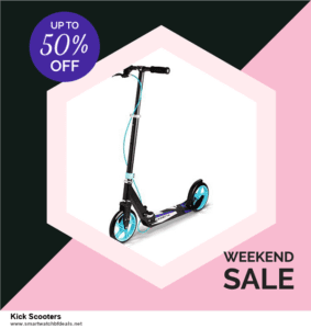 Grab 10 Best Black Friday and Cyber Monday Kick Scooters Deals & Sales