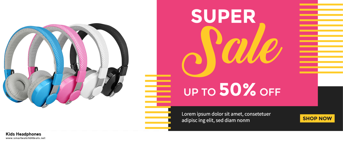 List of 10 Best Black Friday and Cyber Monday Kids Headphones Deals 2020