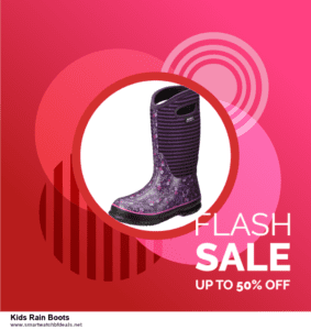 Top 5 Black Friday and Cyber Monday Kids Rain Boots Deals 2020 Buy Now