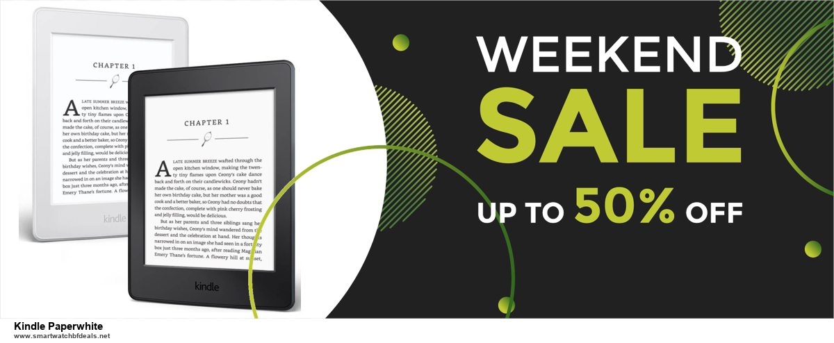 13 Exclusive Black Friday and Cyber Monday Kindle Paperwhite Deals 2020