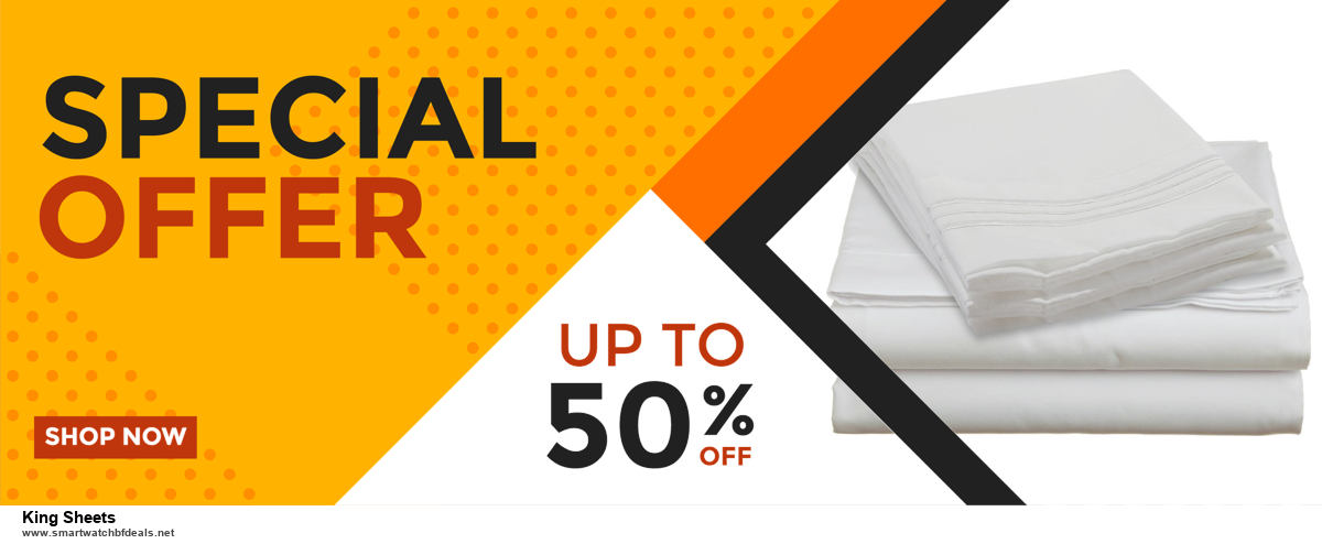 Grab 10 Best Black Friday and Cyber Monday King Sheets Deals & Sales