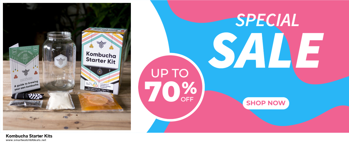 Top 5 Black Friday and Cyber Monday Kombucha Starter Kits Deals 2020 Buy Now