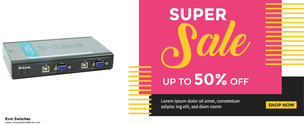 13 Best Black Friday and Cyber Monday 2020 Kvm Switches Deals [Up to 50% OFF]