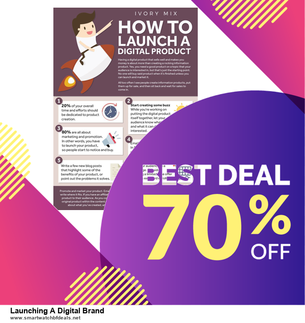 10 Best Launching A Digital Brand Black Friday 2020 and Cyber Monday Deals Discount Coupons