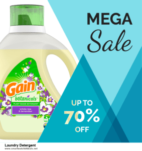 Top 10 Laundry Detergent Black Friday 2021 and Cyber Monday Deals