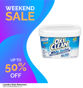 Top 5 Black Friday 2020 and Cyber Monday Laundry Stain Removers Deals [Grab Now]