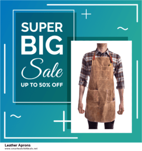 6 Best Leather Aprons Black Friday 2020 and Cyber Monday Deals | Huge Discount
