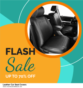 13 Best Black Friday and Cyber Monday 2020 Leather Car Seat Covers Deals [Up to 50% OFF]