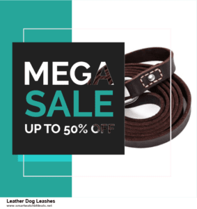 10 Best Leather Dog Leashes Black Friday 2020 and Cyber Monday Deals Discount Coupons
