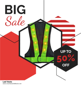 Top 5 Black Friday 2020 and Cyber Monday Led Vests Deals [Grab Now]
