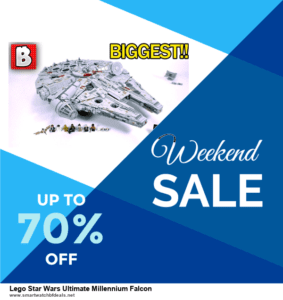 9 Best Lego Star Wars Ultimate Millennium Falcon Black Friday 2020 and Cyber Monday Deals Sales