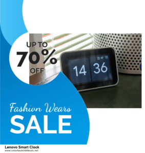 Top 11 Black Friday and Cyber Monday Lenovo Smart Clock 2020 Deals Massive Discount