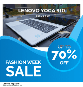 List of 6 Lenovo Yoga 910 Black Friday 2020 and Cyber MondayDeals [Extra 50% Discount]