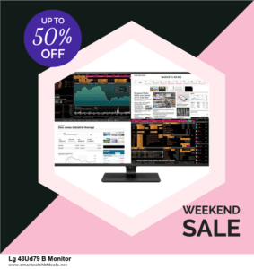 Top 11 Black Friday and Cyber Monday Lg 43Ud79 B Monitor 2021 Deals Massive Discount